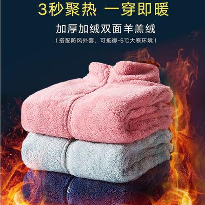 62385/秋冬季两面穿羊羔绒外套女抓绒衣男士摇粒绒保暖加绒加厚开衫卫衣