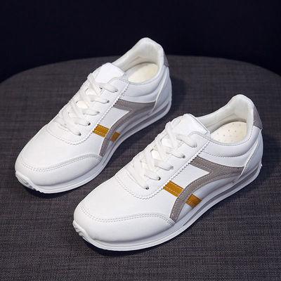 60661/2021春秋季爆款时尚女鞋韩版小白鞋平底运动休闲女鞋单鞋学生鞋