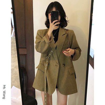 59237/设计感休闲西装女外套宽松气质长袖高档西服上衣新款秋季韩版显瘦