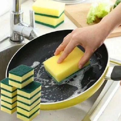 洗碗海绵百洁布厨房抹布不沾油魔力擦清洁洗锅洗碗布海绵擦神器