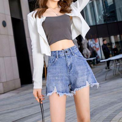 75975/牛仔短裤女百搭洋气潮流新款外穿时尚韩版爆款薄款