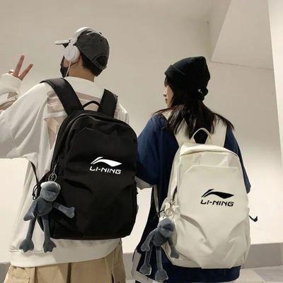 71738/国潮双肩包男大容量潮流电脑背包初高中学生书包女户外新款旅行包
