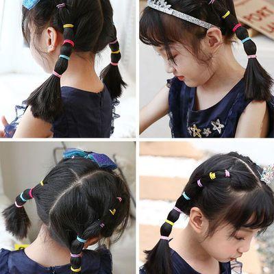 65777/韩国儿童头绳发圈发饰女孩扎头发橡皮筋彩色小号发绳不伤发头饰品
