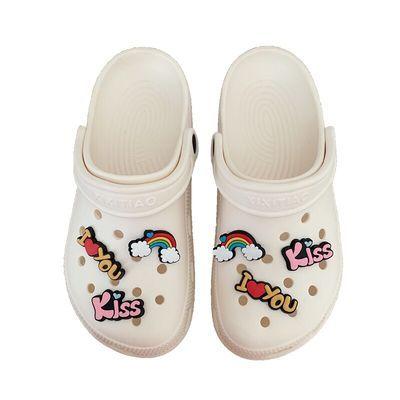 72541/洞洞鞋女2020新款韩版ins潮可爱厚底包头外穿防滑凉拖鞋夏沙滩