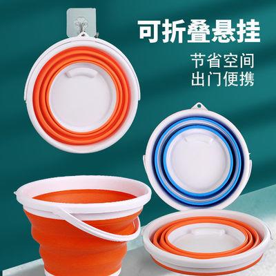 77061/折叠桶折叠水桶玩具桶打水桶美术洗笔桶玩具桶