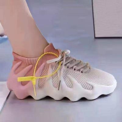 66044/八爪鱼鞋女2021夏季薄款飞织透气渐变450火山椰子软底网面老爹
