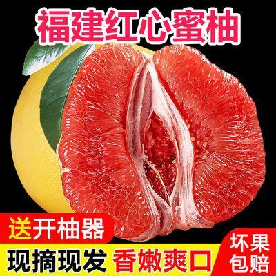 【现摘】柚子红心蜜柚琯溪蜜柚福建平和红肉三红蜜柚孕妇新鲜水果