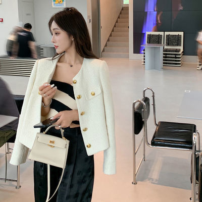 73310/精品小香风女装秋季2021新款外套韩版长袖宽松夹克短款初秋上衣潮