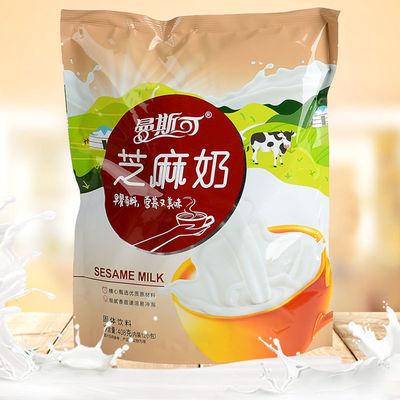 曼斯可芝麻奶早餐营养牛奶独立包装老人学生儿代餐多口味速食冲泡