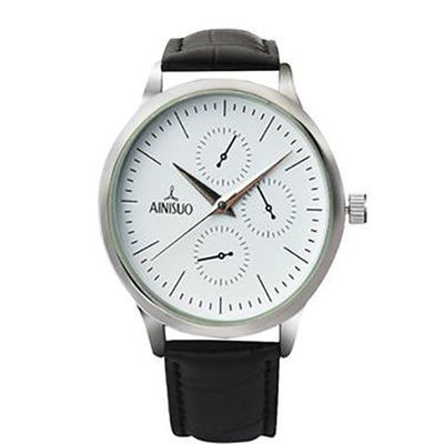 66659/北欧法国小众极简设计简约气质森系文艺防水男女学生手表石英腕表