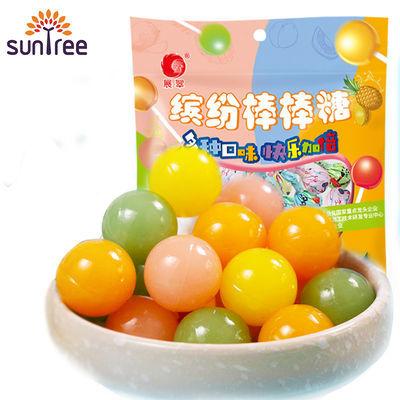 展翠棒棒糖批发25支混合儿童牛奶水果硬糖喜糖果花束休闲零食品