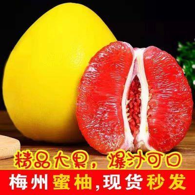 梅州柚子红心柚子红肉蜜柚水果新鲜密柚当季琯溪孕妇整箱包邮