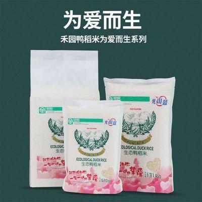 禾园农禾2020新米生态鸭稻香米长粒香粳米一年一季真空装绿色食品