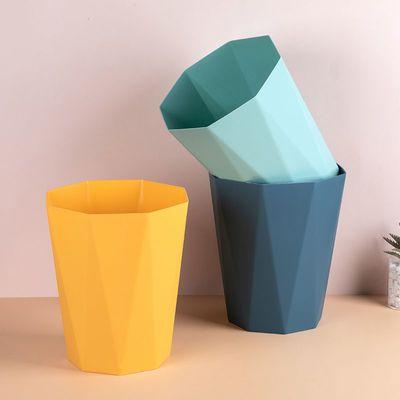 垃圾桶家用厕所卫生间带盖厨房大容量筒卧室商用办公室客厅小纸篓