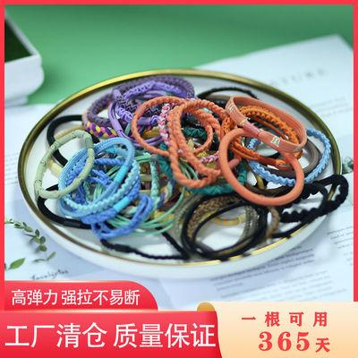 韩版网红高弹成人头绳女简约百搭扎头发发饰橡皮筋发绳发圈头绳