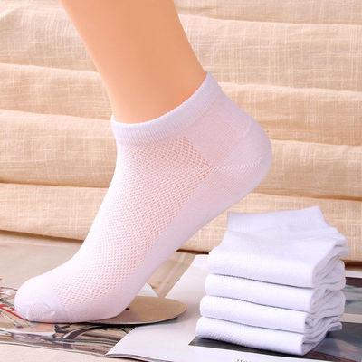袜子厂家直供夏季薄款男女日韩系潮流百搭透气防臭浅口时尚休闲网