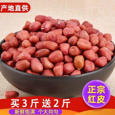 73257/红皮花生米批发生四粒红无壳新鲜自种白沙散装农家精选特价新货