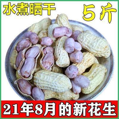 龙岩水煮咸干花生新鲜晒干5斤装1斤盐煮休闲食用怀旧零食坚果10斤