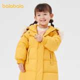 巴拉巴拉女童羽绒服女幼小童羽绒服冬季新款中长款防寒外套童装女