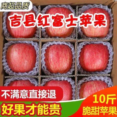 优质山西吉县红富士苹果新鲜水果批发脆甜多汁当季尝鲜装壶口苹果