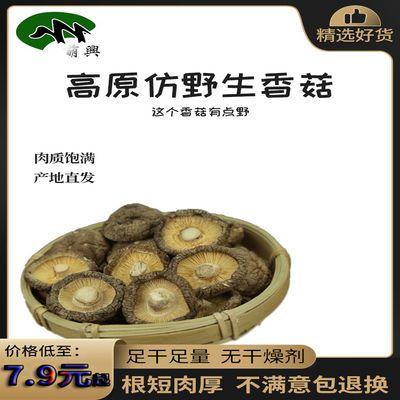 79090/东北特产椴木香菇干货干黑木耳蘑菇农家小花菇新品鲜货野生菌批发