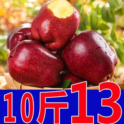甘肃天水花牛苹果整箱3/5/10斤包邮新鲜水果当季红蛇果粉面苹果批
