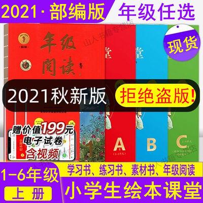 74354/2021秋小学生绘本课堂年级阅读123456年级下册学习书练习书素材书