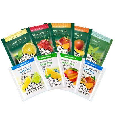 75305/英国亚曼进口英式水果调味茶红茶绿茶热泡冷泡速饮茶包