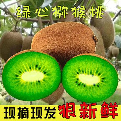 陕西周至新鲜绿心猕猴桃现摘现发水果奇异果当季孕妇水果整箱包邮