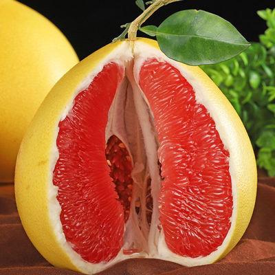 广西红心蜜柚三红蜜柚红肉柚子当季新鲜水果现摘现发整箱10斤包邮