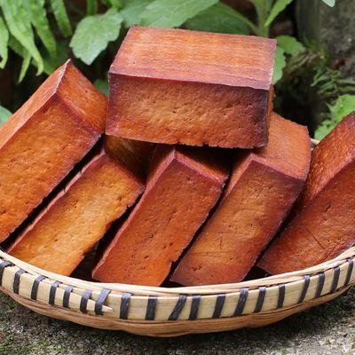 1斤5斤烟熏豆腐干四川特产贵州湖南柴火烟熏环保烟熏豆干厚豆腐干