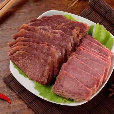 【农家卤牛肉】正宗五香酱牛肉黄牛肉熟食健身即食熟牛肉牛腱批发