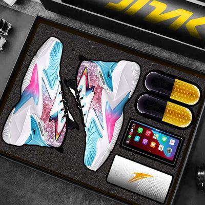 74555/金莱克官方正品篮球鞋男防滑耐磨潮流摩擦有声韦德之道比赛球鞋