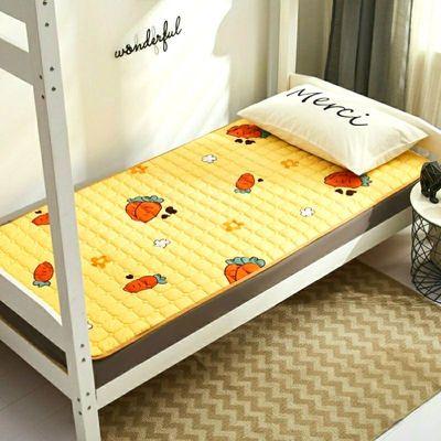 72978/单人床垫学生宿舍被单上下铺铁架子床垫单格子垫单幼儿床上用品