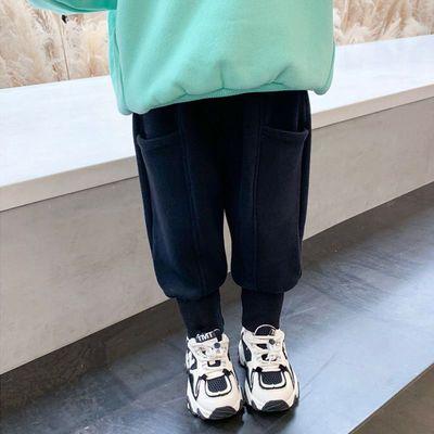 童装2021秋冬新款女秋装儿童休闲裤洋气中童束脚儿童长裤男童裤子