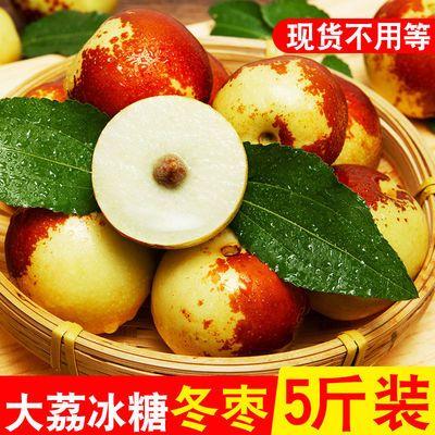 【现摘现发】新鲜5斤冬枣陕西大荔水果鲜枣脆枣鲜红枣脆甜大枣子