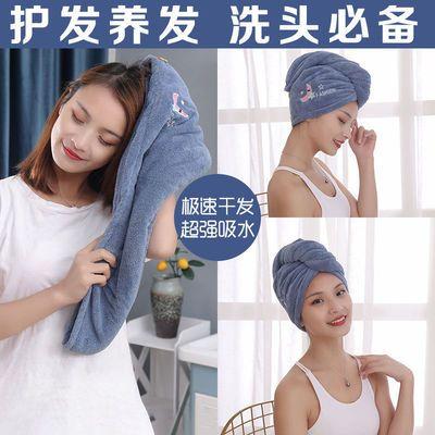 干法帽速干免吹超强吸水包头帽洗头发毛巾烘干全棉擦头发巾不掉毛
