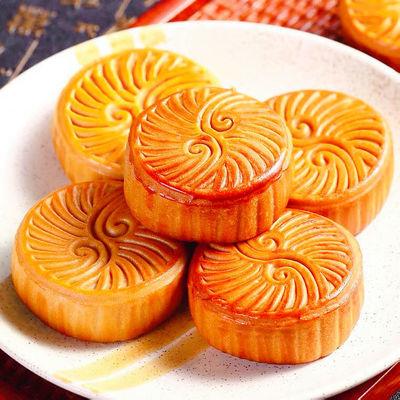 【散装月饼清仓】广式水果月饼蛋黄莲蓉月饼传统糕点零食中秋