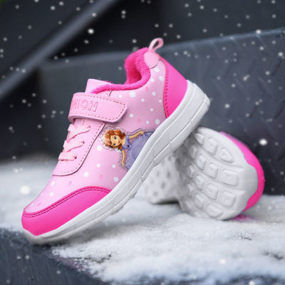 女童运动鞋2021春秋透气儿童鞋女孩高弹休闲鞋网面小学生跑步鞋子