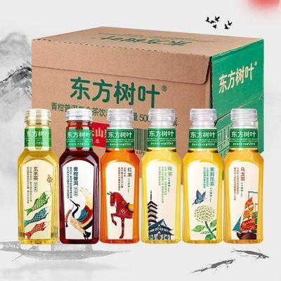 89742/农夫山泉东方树叶500ml/瓶瓶0糖0卡0脂肪茶饮料