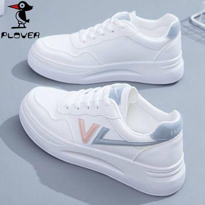 PLOVER啄木鸟小白鞋女鞋2021新款秋季爆款夏季运动白鞋百搭休闲鞋