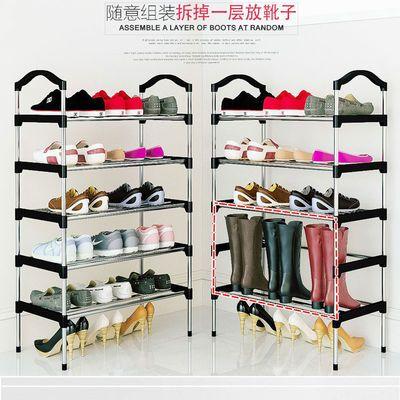 宿舍鞋架子简易多层鞋柜防尘多功能鞋架收纳神器房间鞋柜家用门口