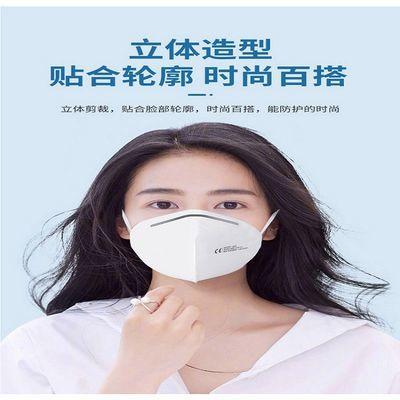 79037/3d立体防尘口罩抖音同少女心可水洗独立包装可爱帅气保暖防尘ins