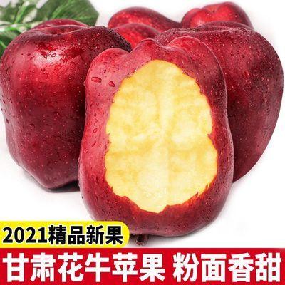 甘肃天水花牛苹果水果红蛇果粉丑当季整箱新鲜刮泥现摘脆包邮