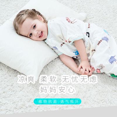 77056/俞兆林婴儿睡袋宝宝分腿春秋棉薄款四季通用连体小儿童防踢被神器