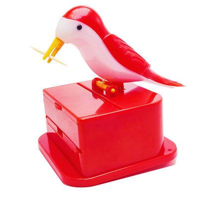 92955/按压小鸟家用自动牙签盒网红同款牙签盒可爱个性时尚啄木鸟牙签桶