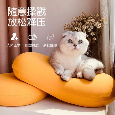 77727/厂家现货猫肚枕慢回弹枕护颈枕猫肚皮枕记忆棉枕猫肚皮枕学生枕