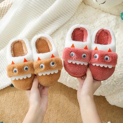 新款儿童拖鞋冬季男女童宝宝棉拖鞋小孩防滑保暖室内居家棉鞋加厚