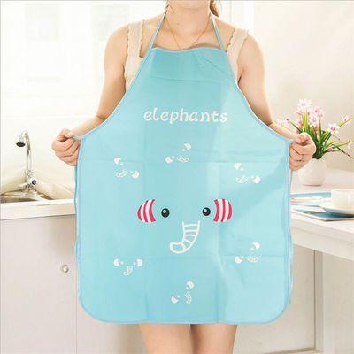 JA厨房韩版可爱卡通公主围裙防油半身围裙卡通成人围裙