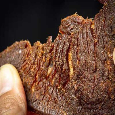 牛肉干风味手撕风干肉片500g五香辣内蒙古小零食网红办公休闲小吃